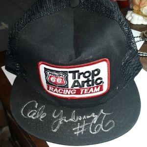 Nascar signed hat